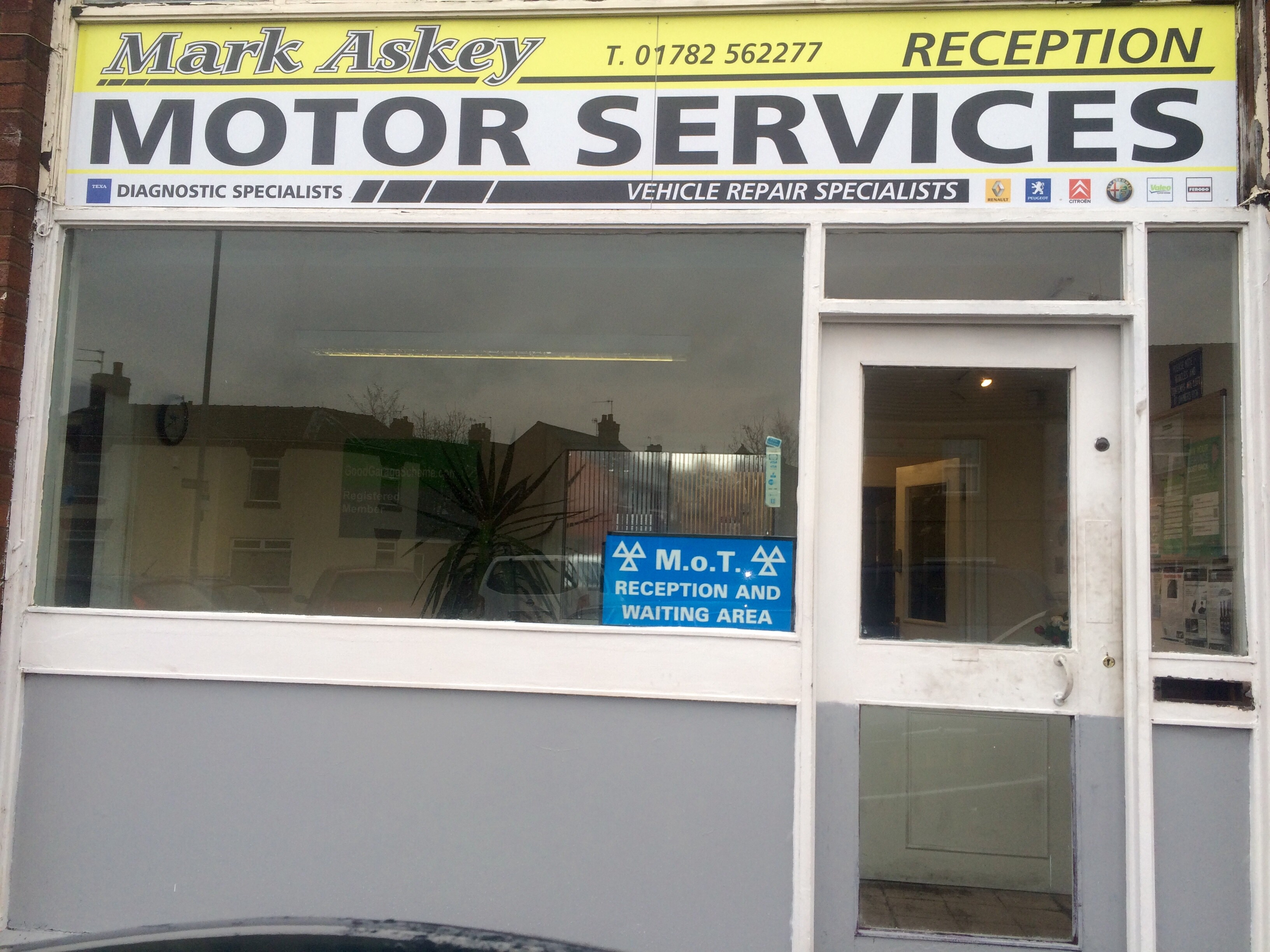 Mark Askey Motor Services Logo