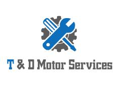 T & D Motor Services Logo