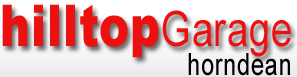 Hilltop Garage Horndean Logo