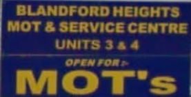 Blandford Heights MOT & Centre Ltd Logo