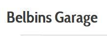 Belbins Garage Logo