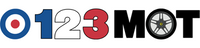 123 MOT Logo