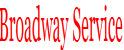 Broadway Service Station Logo
