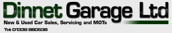 Dinnet Garage Ltd Logo