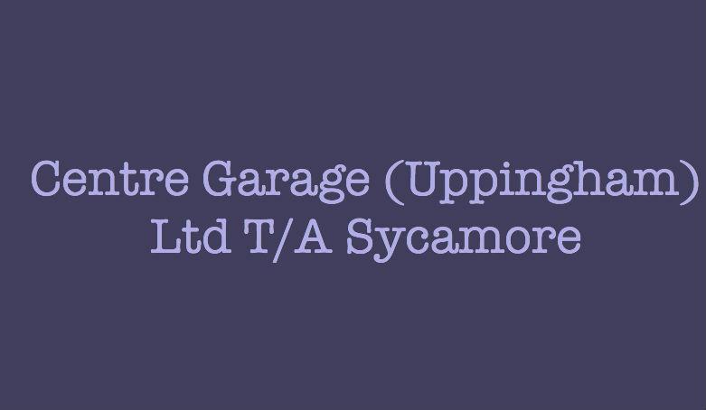 Centre Garage (Uppingham) Ltd T/A Sycamore Logo