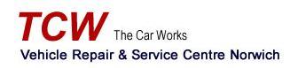 The Car Works - Norwich Logo