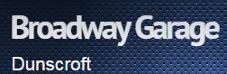 Broadway Garage - Doncaster Logo