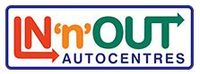 In n Out Auto Centres - Cardiff Logo