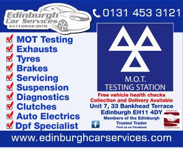 Edinburgh Car Services Logo