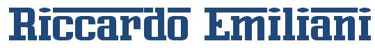 RICCARDO EMILIANI Logo